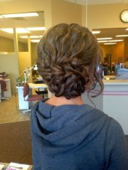 fancy prom hairstyles girls