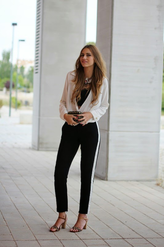 Super Stylish Black And White Outfit Ideas To Try Pretty