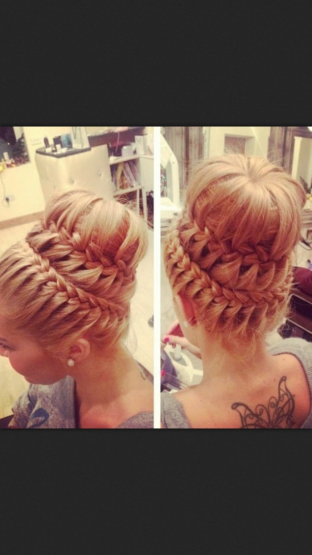 14 Amazing Double Braid Bun Hairstyles Pretty Designs