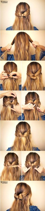 super easy hairstyles with tutorials