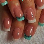 awesome french manicure design