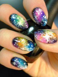19 Amazing Rainbow Nail Art Designs - Pretty Designs