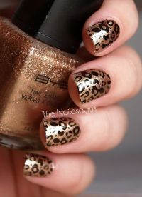 20 Fabulous Leopard Nail Art Designs for Women