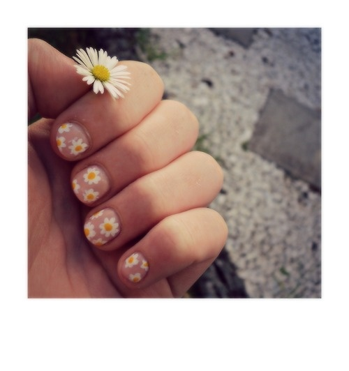 14 Pretty Daisy Nail Designs