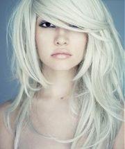 wild and chic white hairstyles