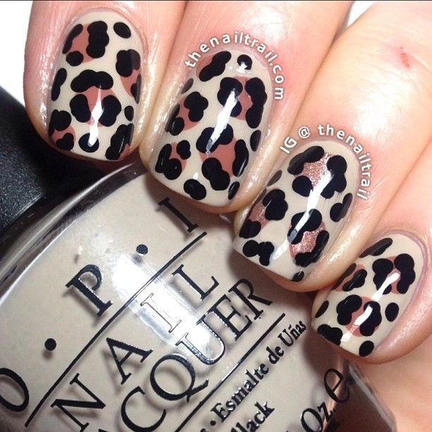 20 Fabulous Leopard Nail Art Designs for Women