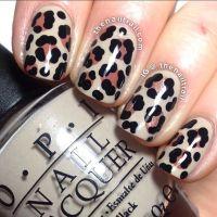 20 Fabulous Leopard Nail Art Designs for Women - Pretty ...
