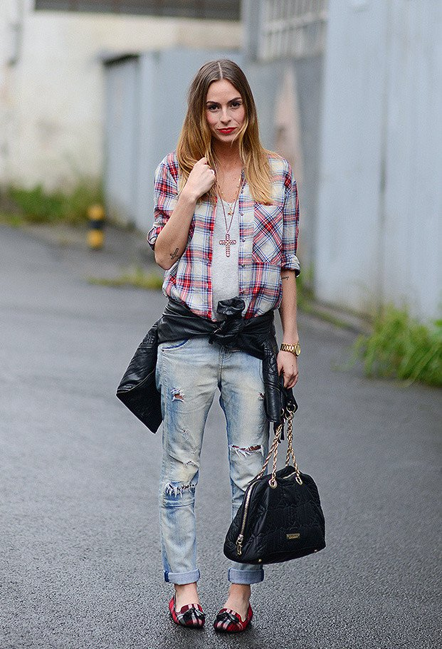 Stylish Outfit Ideas with Your Boyfriends Jeans  Pretty