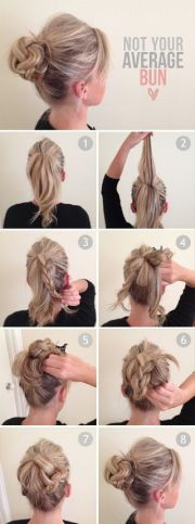 amazing double braid bun hairstyles