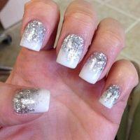 18 Fantastic Silver Nail Designs - Pretty Designs