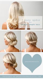 pretty and chic updos medium