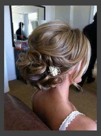 Updo hairstyles for medium length hair pinterest