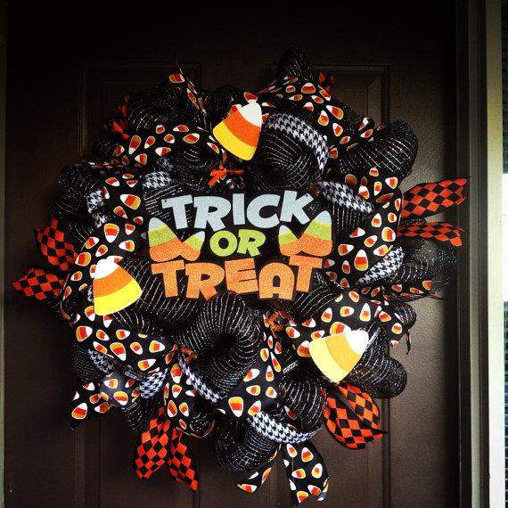 halloween decoration stylish wreaths