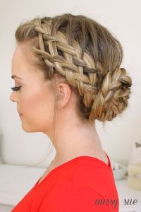 Dutch Braid Wedding Hair - newhairstylesformen2014.com