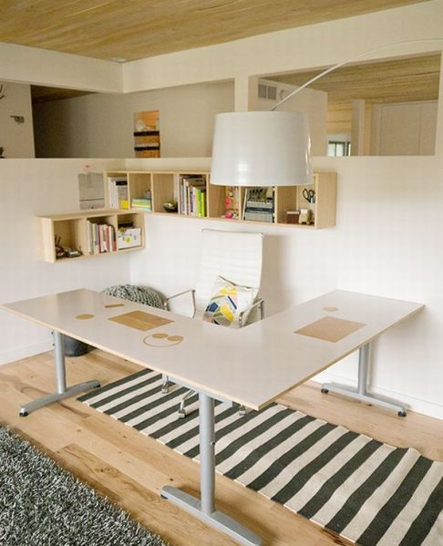 simple home office design ideas 12 Home Office Designs for You to Make a Better Work Place