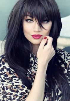 14 Wonderful Dark Colored Hairstyles Pretty Designs