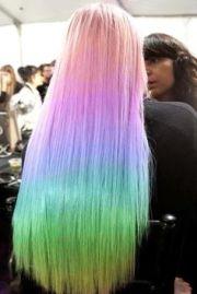 wonderful rainbow hairstyles