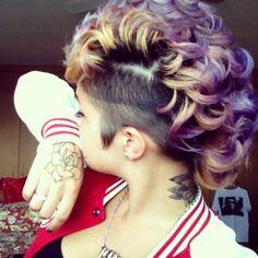 15 Fantastic Mohawk Hairstyles Pretty Designs
