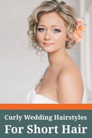 fantastic short wedding hairstyles