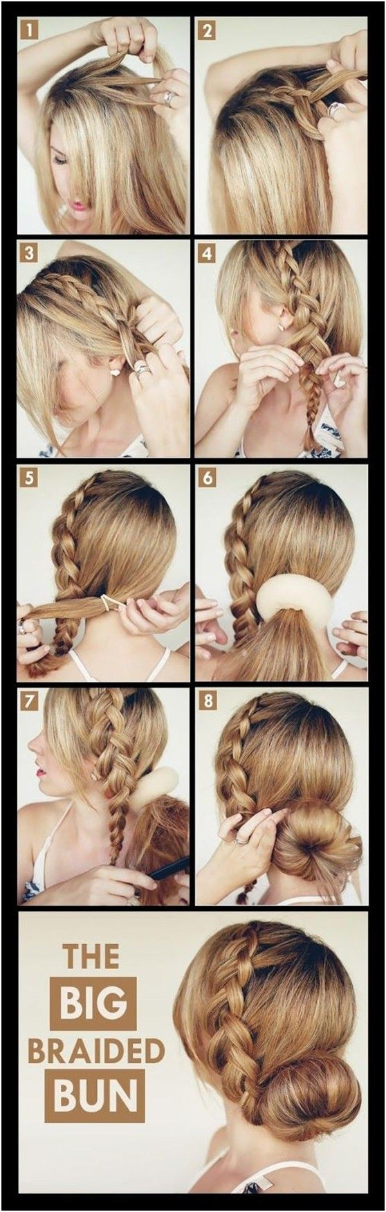 19 fabulous braided updo hairstyles with tutorials - pretty
