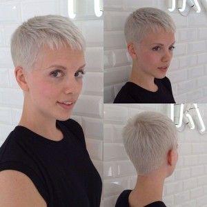 17 charming super short hairstyles pretty designs