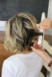 hair tutorials curls short