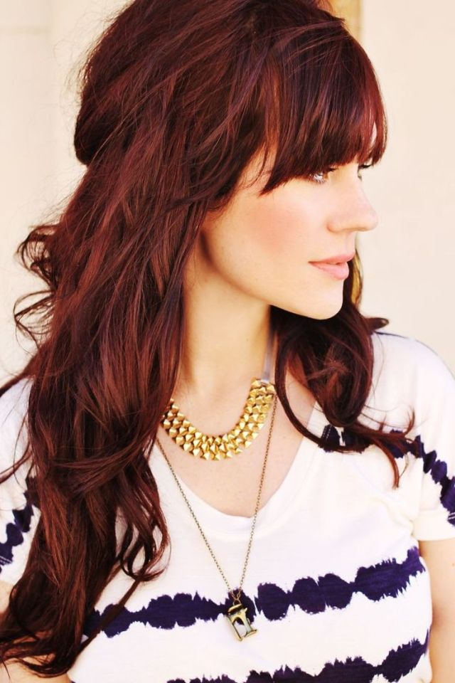 16 beautiful hairstyles with bangs and layers - pretty designs
