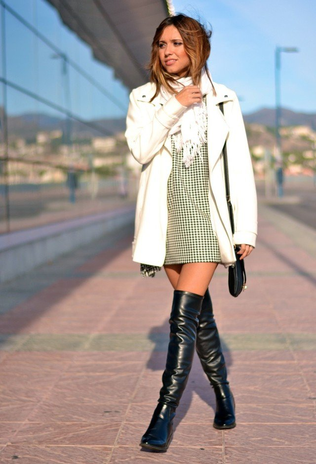 Fall 2015 Fashionable Outfits with Overknee Boots  Pretty Designs