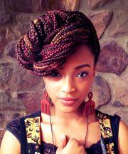 creative african hair braiding