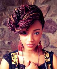 Different Hairstyles With Box Braids ...