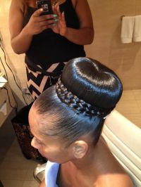 Updo Hairstyles For Weddings African American Hairstyles ...