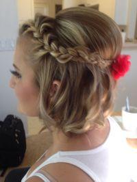 12 Pretty Braided Hairstyles for Short Hair - Pretty Designs