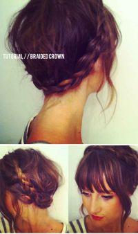 12 Pretty Braided Hairstyles for Short Hair
