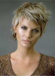 great short hairstyles thick