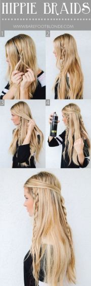 ultra-chic bohemian hairstyles