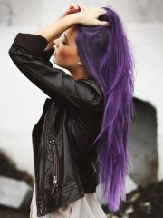 fantastic purple hairstyles