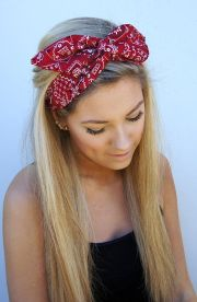 glamorous hairstyles with headbands