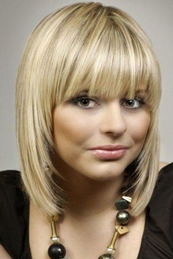 30 Medium Length Hairstyles With Bangs Hairstyles Ideas Walk