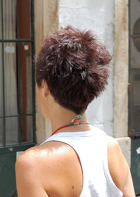55 Super Hot Short Hairstyles 2017 Layers Cool Colors Curls Bangs