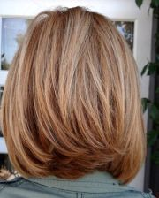 great shoulder length layered