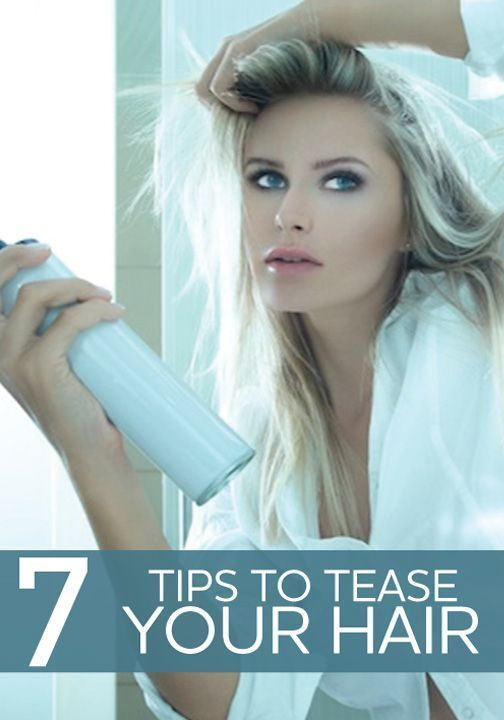 10 Hair Tutorials to Try How to Teased Hair  Pretty Designs