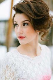 beautifully chic wedding hairstyles