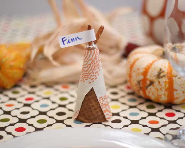 DIY Projects For Thanksgiving Place Cards Pretty Designs