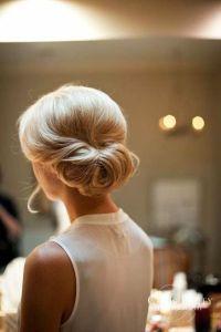 hair low bun hairstyles for weddings 17 simple but ...