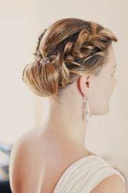 2015 beautiful braided updo