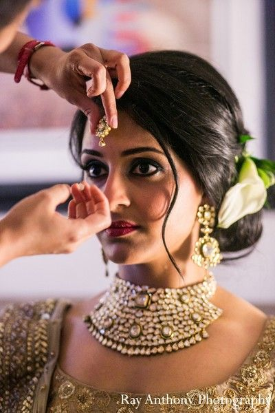 16 Glamorous Indian Wedding Hairstyles  Pretty Designs