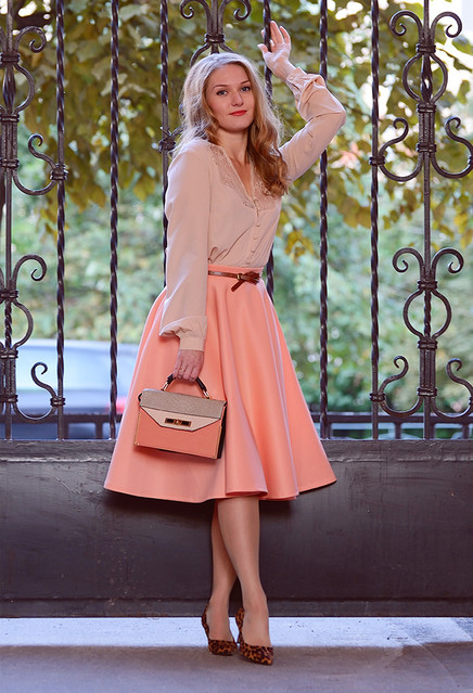 Pretty Winter Outfit Ideas with Pastel Pieces for 2015