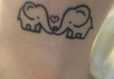 Images About Elephants Tattoo On Pinterest