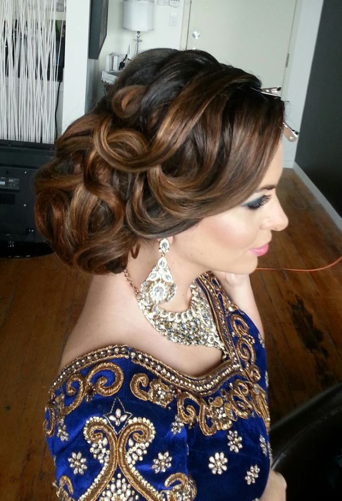 16 glamorous indian wedding hairstyles - pretty designs
