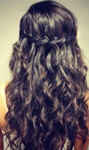 stunning waterfall french braids